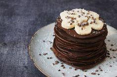 Chocolade avocado pannekoeken (door Jana)
