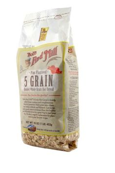 Bob's Red Mill 5 Grain Rolled Hot Cereal 16 Ounces (Pack of Bob's Red Mill Oatmeal, Bolet, Hot Cereal, Bobs Red Mill, Breakfast Cereal, Healthy Cookies, Breakfast Recipes, Sunday Night, Grains