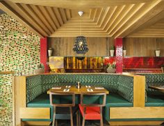 Mexican Restaurant by Brown Studio mexican restaurant interior