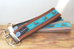 Schlüsselband / Anhänger  Hund / Dackel braun von DaiSign auf DaWanda.com