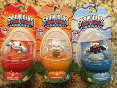 SKYLANDERS Trap Minis POWER PUNCH PET VAC WEERUPTOR EARTH BUNNY Easter 3 LOT #Activision