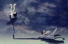 Image from http://img03.deviantart.net/e812/i/2009/121/a/0/vw__swan_lake_by_toughtink.jpg.