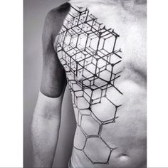 tattoo back geometric - Google Search