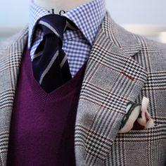 Fancy - Lander Urquijo Purple Sweater Vest