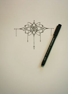 PRICE DROP Knot and Lotus Tattoo by abirdsDesigns on Etsy