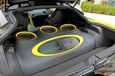 Corvette stingray sound system
