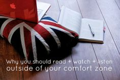yes and yes: Why You Should Read + Watch + Listen Outside of Your Comfort Zone