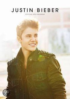 Official Justin Bieber 2014 Calendar