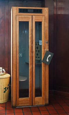 Old wooden phone booth (4/29/2013) - Las Vegas, New Mexico | Flickr - Photo Sharing!