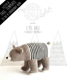 #DIY Pack / Pattern of eco-cotton crochet animal