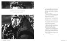 Day For Night (Winter Issue) by Alex Cornell, via Behance