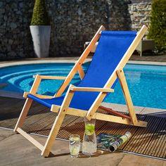 Klappliegestuhl weiss  Tolix Stuhl #AC RAL 5024 bei Villatmo | Sessel & Stühle | Pinterest