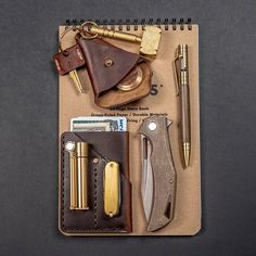 A carry that Indiana Jones himself would wield and be proud of. Link in our bio for the full gear list! #obermetalworks #hammerkeychain #smithsandkings #kyleskustompens #olamic #olamicswish #olamiccutlery #olamictactical #douglasslighter #jamiefeinsteinjewelrydesign #customsak #fieldnotes #fieldnotestenographers #knife #knives #pocketknife #edcknife #usnstagram #usnfollow #knifelife #knifeaddict #knifecollector #knifecollection #knifetography #knifestagram #knifesale