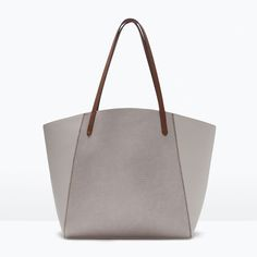 Image 1 of COMBINED SHOPPER BAG from Zara $59.90
