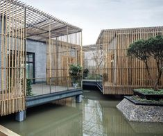 Bamboo Courtyard Teahouse   by HWCD Associates