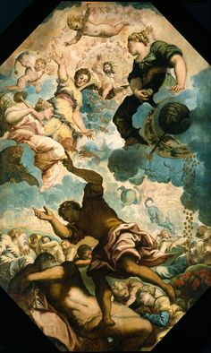 Jacopo Tintoretto~ The Dreams of Men~ Mid 16th Century