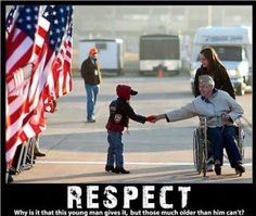 The America I grew up in included respect and appreciation of honor