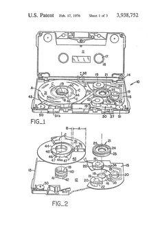 sony walkman cassette image patent - Buscar con Google