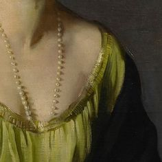 A detail of Sir Oswald Birley's portrait of Olive Pike, to be exhibited at Philip Mould & Co. from 26 September - 10 October for the upcoming major exhibition of the artist's work, 'Power & Beauty'. Oswald Birley's conception of this portrait of fellow artist, Olive Pike, is demonstrative of Birley's admiration for portraiture of the Spanish Golden Age. From 1905, he had spent a year living in Madrid obsessively painting copies of works in the Museo Nacional Del Prado. The presentation of…