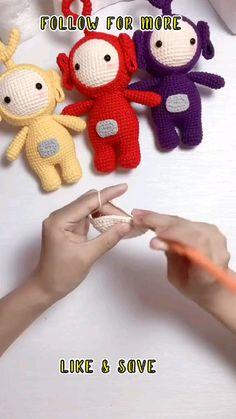 Crochet Doll Tutorial, Crochet Keychain Pattern, Crochet Doll Pattern, Crochet Teddy Bear Pattern Free, Crochet Amigurumi Free Patterns, Crochet Animal Patterns, Stuffed Animal Patterns, Quick Crochet Patterns, Crochet Animal Amigurumi