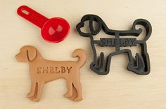 Dog Cookie Cutter Custom Treat Personalized