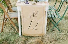 table runner number