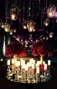 This light adds to the mystery! Portfolio by Shloka Events, Delhi #weddingnet #wedding #india #indian #indianwedding #mandap #mandapdecor #mandapdesigns #mandapdecoroutdoor #outdoorwedding #mandapideas #weddingdecor #decor #decorations #decorators #indianweddingoutfits #outfits #backdrops #llittlethings #flowers #flowersdecor