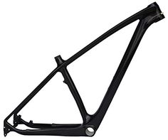 Full Carbon UD Glossy 29er Mountain Bike MTB Cycling BSA Frame 17' >>> You can find out more details at the link of the image.
