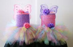 Items similar to Baby girls pastel tutu dress with headband set - Infant to Girls 8 on Etsy