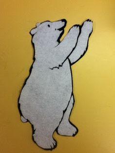 #felt | My Storytime Life: Flannel Friday! Polar Bear!