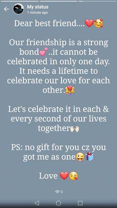 Happy Birthday Best Friend Quotes, Short Birthday Wishes, Best Friend Quotes Funny, Birthday Wishes Messages, Besties Quotes, Bffs, True Friendship Quotes, Wish Quotes, Instagram