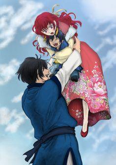 Yona of the dawn / Akatsuki no Yona    Yona and Hak OTP and their child/kid <3 SO CUTE OMG #anime #manga