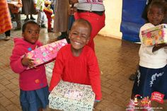 Santa Shoebox Celebration Parties!