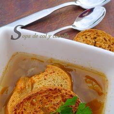 Nunca había oído esta sopa, pero tiene muy buena pinta.