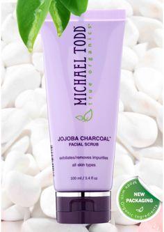 Cutie and Beautie - Michael Todd True Organics - Jojoba Charcoal Scrub, $27.50 (http://www.hikosencara-nz.com/shop-beauty/michael-todd-true-organics-jojoba-charcoal-scrub/)