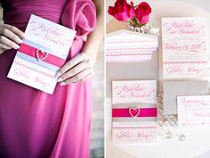 Divine Pink Invitations!!!