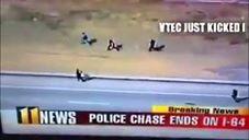 Usain Bolt se metió a policia - Pal Feis