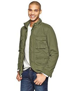 Fatigue jacket from Gap. For a cool casual day.