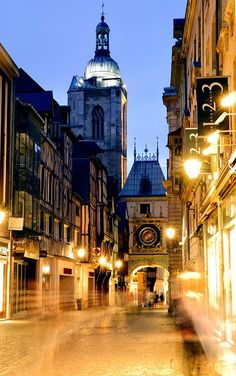 Rouen, France... I've been here! One of my favourite cities in France.