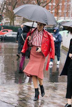 Paris Fashion Week street style as shot by Simon Chetrit.