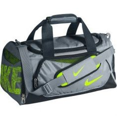 43f4e3aabe5a lime green and grey. i need a new duffle. haven t gotten a