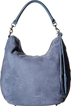 Liebeskind Womens Niva Blue Hobo ** To view further for this item, visit the image link.