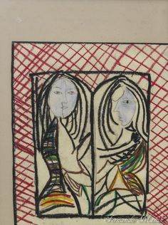 Alteridade - tênues relações humanas, conhecer o outro e a si mesmo - releitura de Picasso