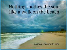 Walk on the beach...my favorite!!!