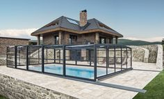 POPP PRESTIGE P3 - lines, shades, in perfect harmony with any architectural style of your house