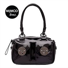 MINI TURNLOCK ZIP TOP Mimco Bag, Handbags, Zip, Muse, Stuff To Buy, Collection, Black, Winter, Fashion