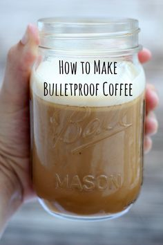 to make Bulletproof Coffee Bulletproof coffee gives you an amazing energy boost that will keep your mind focused and clear!Bulletproof coffee gives you an amazing energy boost that will keep your mind focused and clear! Healthy Recipes, Low Carb Recipes, Cooking Recipes, Yummy Drinks, Healthy Drinks, Smoothies, Café Chocolate, Milk Shakes, Keto Drink
