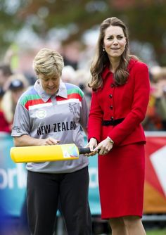 4/14/2014: ICC Cricket World Cup 2015 event, with Debbie Hockley (Christchurch, Canterbury, New Zealand)