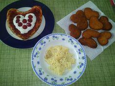 Mi menú de san Valentín!! ... Con todo mi corazón!