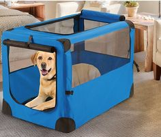 Giant Portable Pet House >> Additional details found at the image link  : Dog house